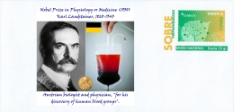 SPAIN,  Nobel Prize In Physiology Or Medicine (1930)  Karl Landsteiner, Austrian Biologist And Physician - Nobel Prize Laureates