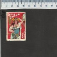 LAILLA BAIGUM AUSTRIA OLD MATCHBOX LABEL (glossy) - Boites D'allumettes - Etiquettes