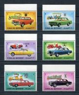 UMM AL QIWAIN 1972 Mi # 637 A - 642 A CARS MNH - Umm Al-Qiwain
