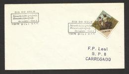Timor Oriental Portugal Cachet Commémoratif Journée Du Timbre 1972 Camões Lusiadas East Timor Event Postmark Stamp Day - Osttimor
