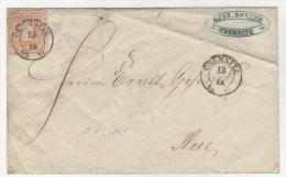 Sachsen Michel No. 15 auf Brief