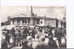 1 Cpa Saintes-Maries-de-la-Mer.La Procession Du 25 Mai. Chevaux. Animation - Saintes Maries De La Mer