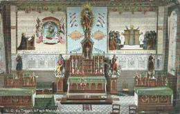 Fayt-Manage - N-D Du Travail - Chapelle Des Retraitants - 1909 ( Voir Verso ) - Manage