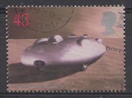 GRANDE-BRETAGNE Mi.nr:1770 Geschwindigkeitsrekordfahrer 1998 OBLITÉRÉ-USED-GEBRUIKT - Used Stamps