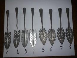 11 Cuillères à Absinthe - Swizzle Sticks