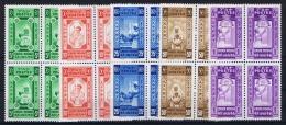 Ethiopia:  Red Cross Non Issued, MNH/** 1936  4-blocks - Ethiopië