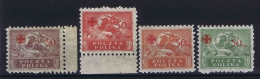 Poland: 1921 Mi.nr. 154-157 MH/* - 1919-1939 Republiek