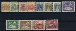 Poland: Levant  Mi.nr. 1 - 11 MH/* Partial Signed, Please See Scans.new Prints - Levant (Turkey)