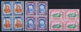 Libia Nr 201-203 MNH/** 1965 In 4 Blocks - Libië