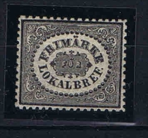 Sweden: 1856 Mi.nr. 6 Not Used (*) - Unused Stamps