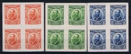 Uruguay, 1928 Mi.nr. 382-384 MNH/**  In 4-blocks - Uruguay
