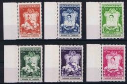 Cambodge  Mi. 66 - 71  MNH/** 1956, Sheet Margins - Cambodja