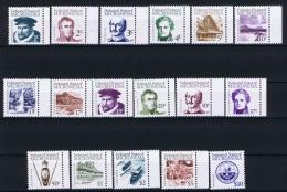 Micronesia  Mi. 5 - 22 + 36  MNH/** 1984/85 - Micronesië