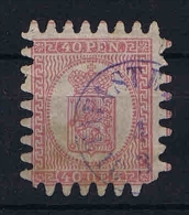 Finland  1886 Mi Nr 9 C Used  With Nice Cancel - Gebruikt