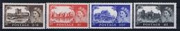 Great Britain: 1955 Mi 278 - 281 , SG 536-539  MNH/** - 1952-.... (Elizabeth II)