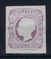 Portugal: 1862, Mi.nr. 16, Yv Nr 17, MH/*,  Very Wide And Nice Borders - 1862-1884: D.Luiz I
