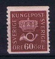 Sweden: 1921 Mi   196 I  Vierzeitig, MH/* - Zweden