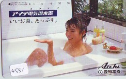 Télécarte Japon EROTIQUE (4551) EROTIC * Japan PHONECARD EROTIK * BIKINI GIRL * FEMME  SEXY LADY - Mode