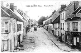 Viels Maisons Aisne Rue Paris Nouveautés Nevers Boutiques école 1915 état Superbe - Frankrijk