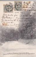 91 à La Recherche Du CURE De CHATENAY  Route D' ETAMPES à CHALO Saint MARD Ou L' On A Retrouvé Le CHAPEAU Timbré 1906 - Francia