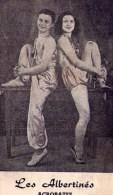 Cirque : Les Albertinés - Acrobates (vierge) - Cirque