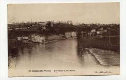 CP , 87 , SAINT-JUNIEN , La Vienne � Saint-Amand