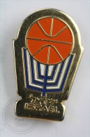 Israel Basketball - Pin Badge #PLS - Baloncesto