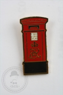Red Mailbox - Pin Badge #PLS - Motos