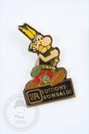 Asterix & Obelix Edition - Editions Rombaldi - Pin Badge #PLS - Marcas Registradas