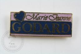 Marie Jeanne Godard - Pin Badge #PLS - Marcas Registradas