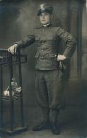 MILITARIA - FIRENZE - Carte Photo Portrait Militaire - Firenze