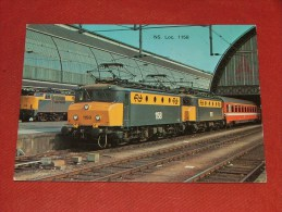 NEDERLAND - PAYS-BAS -  Trein  - Train  - NS Loc. 1158 - Pays-Bas
