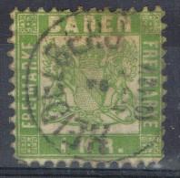 Sello BADEN, Estado Aleman, Fechador HEIDELBERG, Num  23 º - Baden