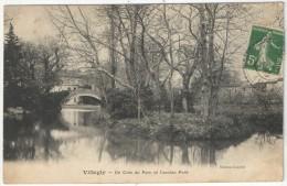 11 - VILLEGLY - Un Coin Du Parc Et L'ancien Pont - Edition Courbil - 1912