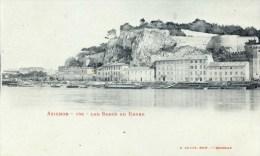 84 AVIGNON  Les Bords Du Rhone Phototypie LACOUR Marseille Comme Neuve Etat LUXE - Avignon