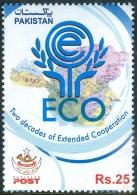 PAKISTAN MNH (**) STAMPS (ECONOMIC COOPERATION ORGANIZATION  2013)