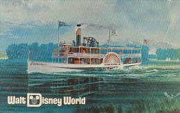 Cruising By Excursion Steamer Walt Disney World Orlando Florida 1970