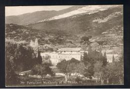 RB 990 - Early Postcard - Mt Pentelicon Monastery Of H. Triada - Greece - Religion Theme - Greece