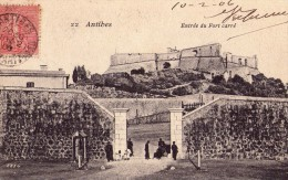 Antibes-entree Du Fort Carre - Ohne Zuordnung