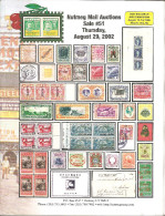 Nutmeg Stamp Auction # 51,August 2002,Used In Good Condition - Catalogues For Auction Houses