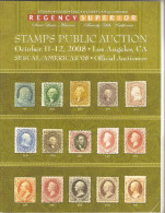 Regency Superior Stamps Auction Catalog 2008 ,VF - Catalogues For Auction Houses