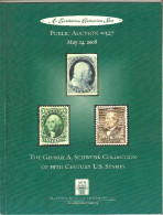 George A.Schwenk Rare US Stamps Auction Catalog # 327,VF - Catalogues For Auction Houses