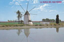 Ph-CPM Espagne La Manga Del Mar Menor (Murcia) Molino Tipico - Murcia