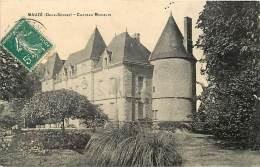 Dept Div - Deux Sevres  - N 322 - Mauze - Mauze Sur Le Mignon - Chateau Du Moulin - Chateaux - Carte Bon Etat - - Mauze Sur Le Mignon