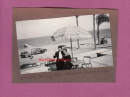 Photo Ancienne - ABOUKIR , Egypte - Le Touring Club - Automobile à Identifier - Automobiles