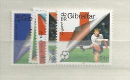 2000 MNH Gibraltar, Mi 909-13, Postfris - Gibraltar