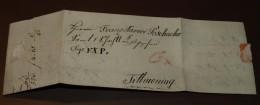 Deutsches Reich Brief Poschacher Brief 1799 Nach Titmoning #cover2539 - ...-1849 Vorphilatelie