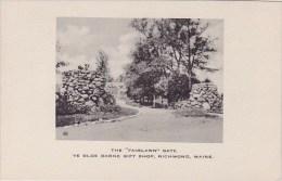 Maine Richmond The Fairlawn Gate Ye Olde Barne Gift Shop
