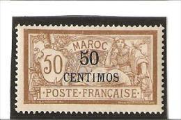 TIMBRES DE FRANCE Avec Valeur En Espagnole  N° 15 *  Charnière - Unused Stamps