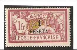 TIMBRES DE FRANCE Avec Valeur En Espagnole  N° 16 *  Charnières - Unused Stamps